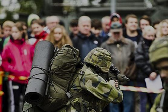 Reklamsabotage av försvarsmaktens reklamkampanj
