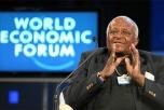 Porträtt av Desmond Tutu