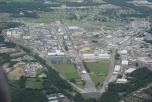 Flygbild över AWE