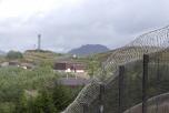 Bild på kärnvapenbasen Coulport i Skottland.