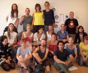Gruppbild på kursdeltagare