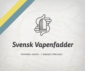 """Puff för kampanjen """"Vapenfadder"""": Svenska vapen - i kriget för dig"""